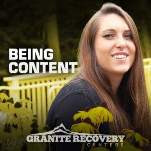 Sam close up sharing her addiction recovery story
