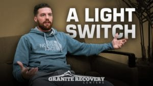 Tim sharing addiction recovery story