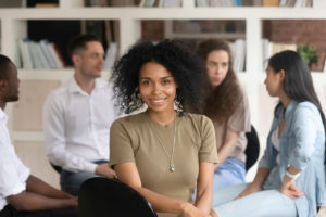 young woman thriving in one of the available detox programs