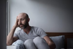 man facing addiction triggers in need of an addiciton relapse plan