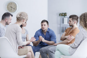 group therapy at a drug rehab center in New Hampshire